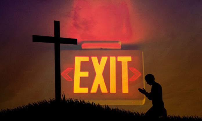 Abandonnez l'Eglise